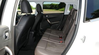 Peugeot 2008 1.6 e-HDi rear seats