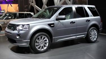 2013 Land Rover Freelander side