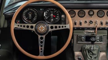 Jaguar E-Type 60 Collection - steering wheel