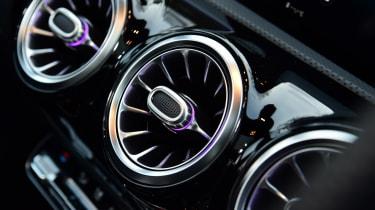 Mercedes-AMG CLA 35 - vents