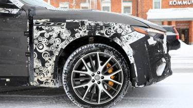 Maserati Levante GTS spy shot - front detail