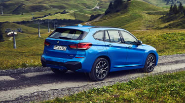 BMW X1 and X2 PHEV - rear
