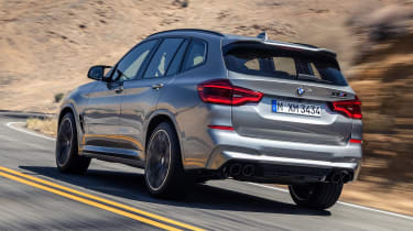 BMW X3 M Competition - rear