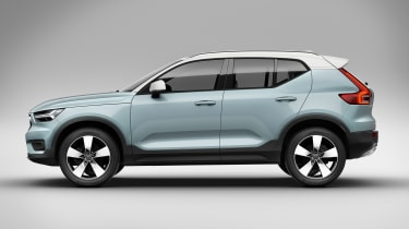 Volvo XC40 - side studio
