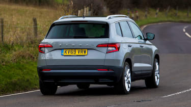 MG HS vs Skoda Karoq - pictures | Auto Express