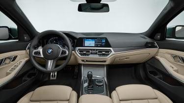 BMW 3 Series Touring - studio interior
