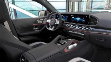 Mercedes-AMG GLE 63 S Coupe - cabin