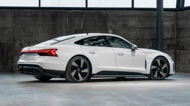Audi e-tron GT - white rear static