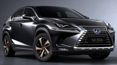 Lexus NX facelift 2017 black