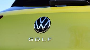 Volkswagen Golf Mk8 - badge