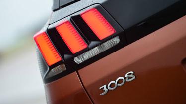 Peugeot 3008 brown - rear light