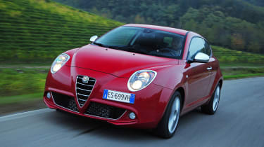 Alfa Romeo Mito Front action