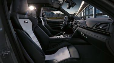 BMW M3 CS - front seats
