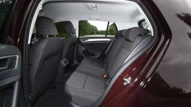 Volkswagen Golf 1.0 petrol - rear seats