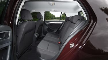 Volkswagen Golf 1.0 petrol - rear seats