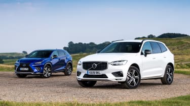 Volvo XC60 vs Lexus NX - head-to-head