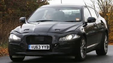 2016 Jaguar XF mule