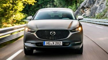 Mazda EV prototype - full front