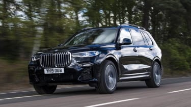 BMW X7 - front tracking