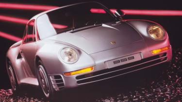 Best cars of the 80s: Porsche 959