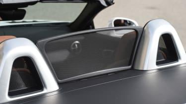 Mercedes SLC roadster 2016 - wind deflector