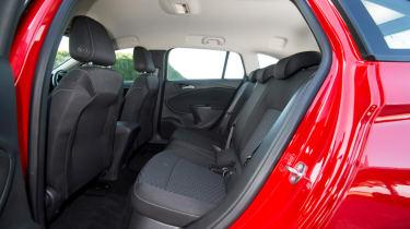 Vauxhall Astra Sports Tourer - rear seats