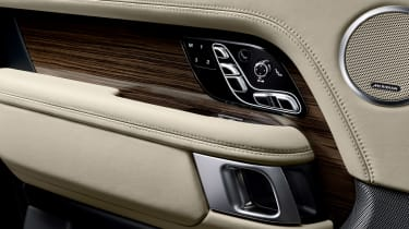 Updated Range Rover - electric seats
