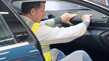 Peugeot 508 testing - dash