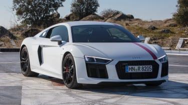 Audi R8 RWS - front static