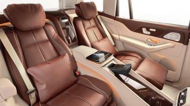 Mercedes-Maybach GLS - seats reclined studio