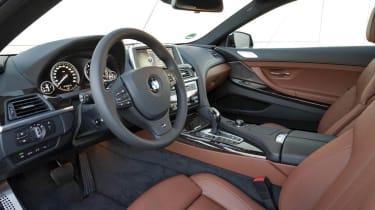 BMW 640d xDrive interior