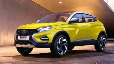 Lada XCode concept front
