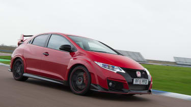 Honda Civic Type R long term - First Report front tracking 2