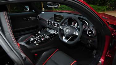 Mercedes-AMG GT S 2015 - interior