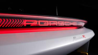 Porsche Mission R - rear detail