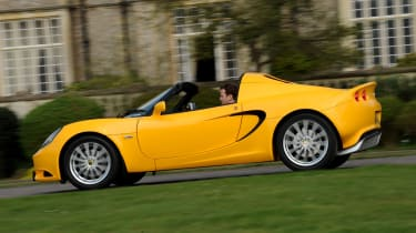The Elise has no electronic interferance so the driver is connected to the road.