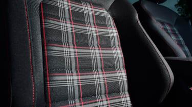 Volkswagen Golf GTI Performance Pack - seat detail