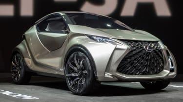 Lexus LF-SA - front