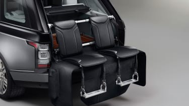 "<span face=""Calibri, Verdana, Helvetica, Arial"" style=""font-family: Calibri, Verdana, Helvetica, Arial;""><span>The Event Seating option adds handmade, leather-covered aluminium-constructed seats that fold out from the boot.</span></spa"