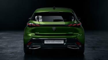 Peugeot 308 - studio full rear