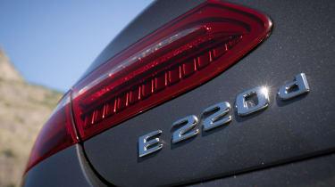Mercedes E-Class Cabriolet - E220d badge