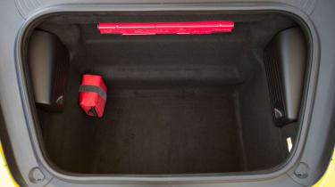 Porsche 911 Carrera S Cabriolet boot
