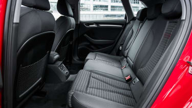 Audi A3 Sportback - rear seats