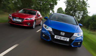 Honda Civic Sport vs Mazda 3 - header