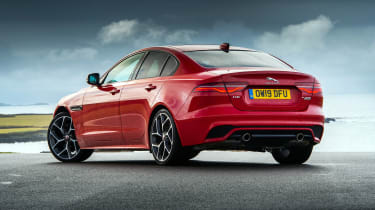 Jaguar XE P300 Long termer - rear
