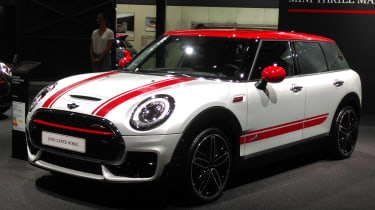 MINI Clubman JCW - Paris front