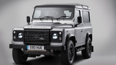 Land Rover Defender no 2 million front