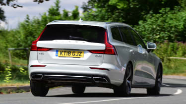 Volvo V60 - rear action