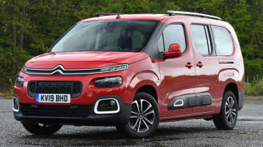 Citroen Berlingo XL Flair long termer - front static