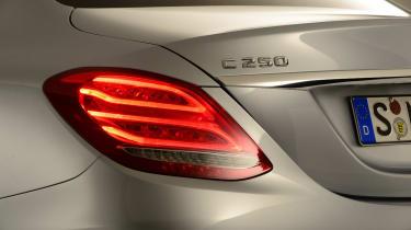 Mercedes C-Class 2014 studio badge